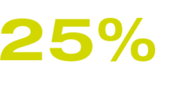 25% Search for new suppliers and business partners