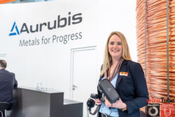 Aurubis is using Virtual Reality to show potential customers their production lines.